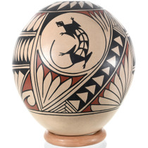Mata Ortiz Lizard Design Pottery 32441
