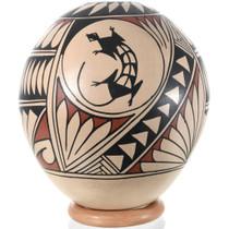Mata Ortiz Lizard Design Pottery 32441