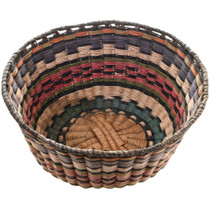 Vintage Hopi Wicker Basket 32442