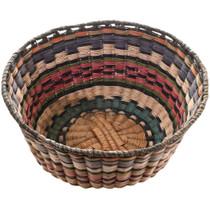 Vintage Hopi Wicker Basket 32442