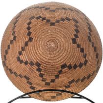 Large Hand Woven Pima Basket 32444