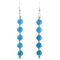 Navajo Turquoise Earrings 32445