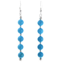 Navajo Turquoise Earrings 32445