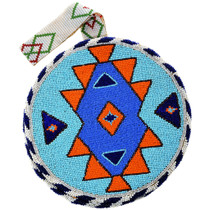 Native American Beaded Bag by Lizzie Quintana 32449
