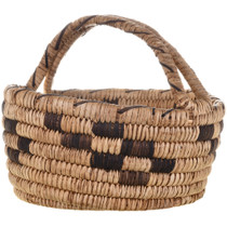 Native American Basket with Handle 32457