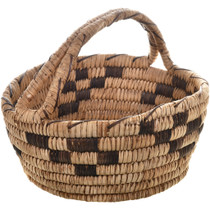 Vintage Papago Indian Basket 32457