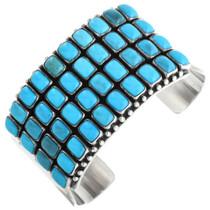 Vintage Navajo Turquoise Cuff Bracelet 32459