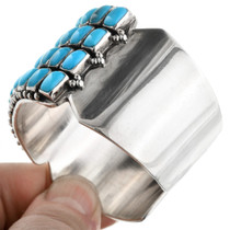 Native American Turquoise Row Bracelet 32459