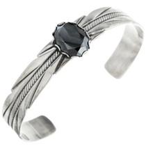 Vintage Faceted Hematite Bracelet 32462