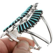 Native American Turquoise Needlepoint Bracelet 32465