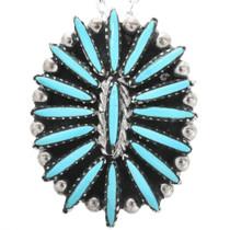 Sleeping Beauty Turquoise Pendant 32467
