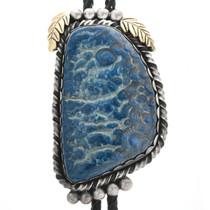 Blue Agate Bolo Tie 32470