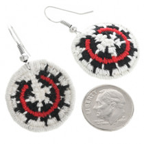 Hand Woven Wedding Basket Earrings 32474