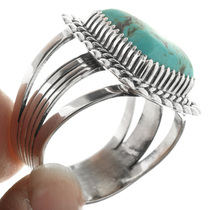 Navajo Made Sterling Silver Ring 32485