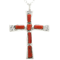 Zuni Cross Pendant 32494
