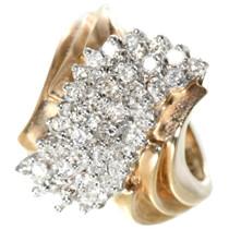 Vintage Diamond  Yellow Gold Ladies Ring 32503