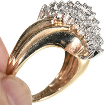 Ladies Cluster Cocktail Style Ring 32503