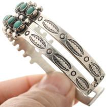Fred Harvey Turquoise Silver Bracelet 32518