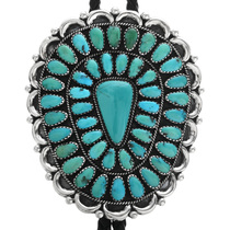 Vintage Turquoise Bolo Tie 32535