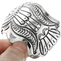 Native American Sterling Silver Bracelet 32545