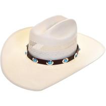 Turquoise Concho Hatband 32546