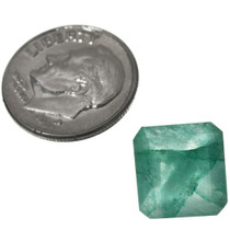 Faceted Emerald Gemstone 32551