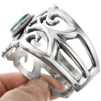 Tufa Cast Sterling Silver Cuff Bracelet 32552