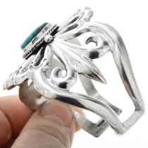 Tufa Cast Sterling Silver Cuff Bracelet 32560