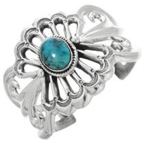 Turquoise Silver Navajo Bracelet 32560