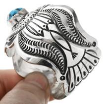 Carson Blackgoat Turquoise Bracelet 32564