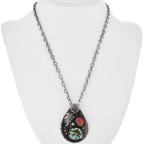 Nevada Number 8 Turquoise Pendant 32561