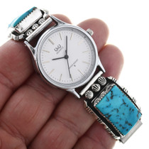 Vintage Sleeping Beauty Turquoise Watch 32572