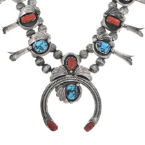 Native American Turquoise Necklace 32575