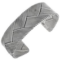 Vintage Handmade Sterling Silver Bracelet 32590