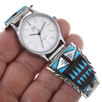 Native American Turquoise Watch 32595