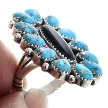 Turquoise Silver Ring 32607