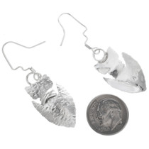Native American Arrowhead Earrings 32608