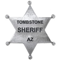 Tombstone Sheriff Badge 32612