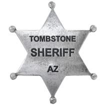 Tombstone Sheriff Badge 32612