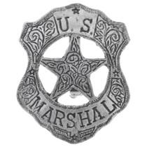 US Marshal Badge 32614