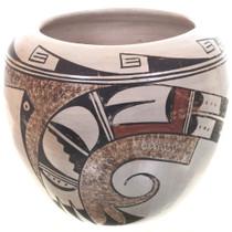 Skyband Parrots Hopi Tewa Pottery Jar 32625