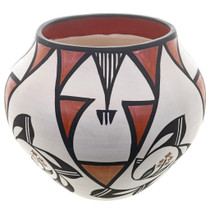 Rain Flower Patterns Acoma Indian Pottery 32649