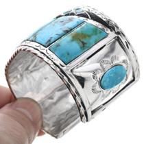 Navajo Benjamin James Turquoise Bracelet 32671