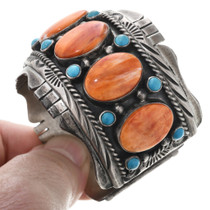 Old Pawn Navajo Sterling Silver Bracelet 32674