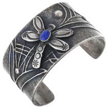 Vintage Sterling Silver Dragonfly Bracelet 32676