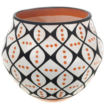 Acoma Pueblo Polychrome Pottery 32695