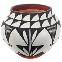 Acoma Pottery Rain Flower Patterns 32696