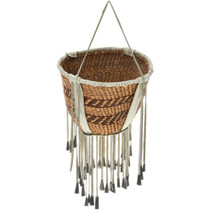 Vintage Apache Indian Burden Basket 32699