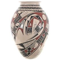 Hand Coiled Mata Ortiz Vase 32690