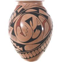 Polychrome Bird Pattern Mata Ortiz Vase 32702